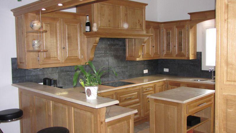 Cuisines sur mesure salle de bains meubles ma tre - Cuisine francaise meuble ...